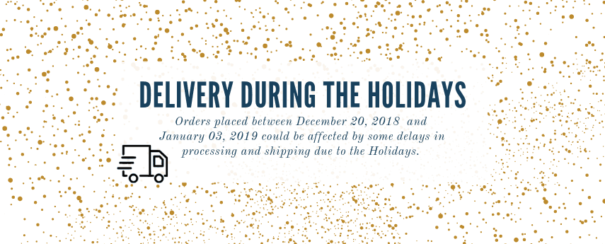 <p>Shipping during the Holidays</p>