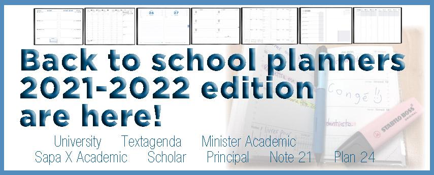 <p>2021-2022 Academic Planners</p>