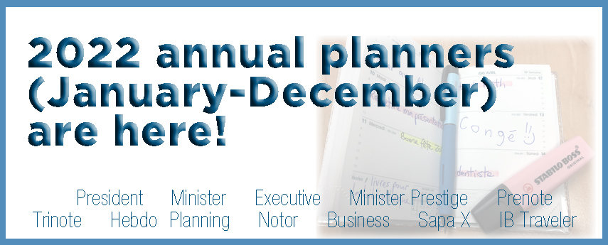 <p>2022 Planners</p>