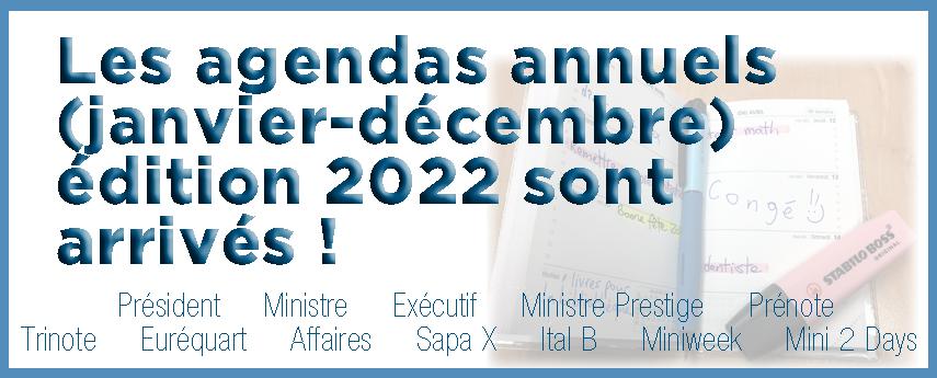<p>Agendas 2022</p>